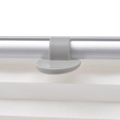 vidaXL Plissee Faltstore Weiß M06/306