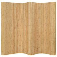 vidaXL Raumteiler Bambus 250x165 cm Natur