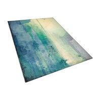 Teppich blau-grün 160 x 230 cm SUSUZ