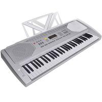 Elektrisches Fun Keyboard 61 Tasten inkl. Notenablage