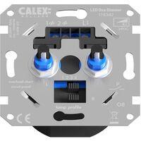 Calex - Led Dimmer - Einbau - Doppelter Knopf - 3-70w