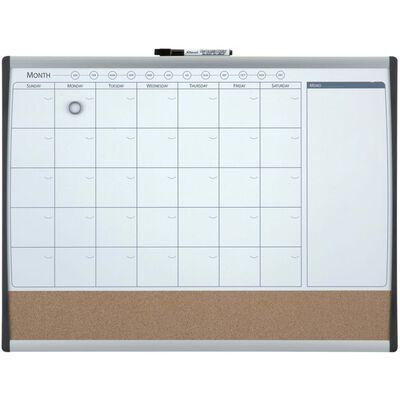 nobo Magnetischer Monatsplaner Combi-Board 58,5x43 cm,