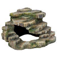 TRIXIE Eck-Fels mit Höhle und Plattform 26x20x26 cm 76196