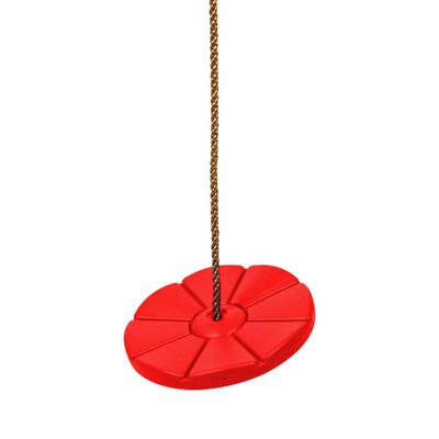 Swing King Schaukelscheibe aus Kunststoff D28 cm rot 2521062, Rot