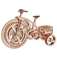 Wood Trick Modellbausatz Holz Fahrrad