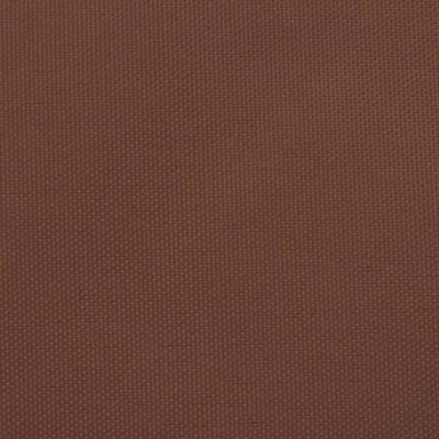 vidaXL Sonnensegel Oxford-Gewebe Rechteckig 2x5 m Terrakottarot