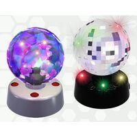 PartyFunLights Discokugel mit integrierten LED-Leuchten