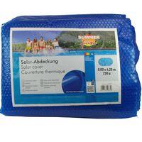 Summer Fun Sommer Poolabdeckung Solar Oval 800x420 cm PE Blau
