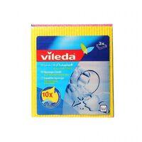 Vileda Aqua Schwammtuch 5 Stück 142267 Vileda Professional