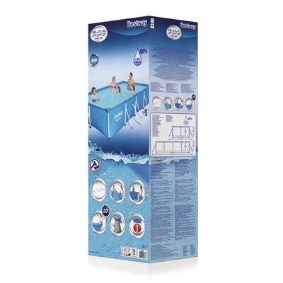 Bestway Steel Pro Swimmingpool-Set Rechteckig 400×211×81 cm 56424