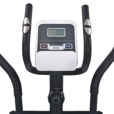 vidaXL Magnetischer Crosstrainer mit Pulsmessung