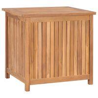 vidaXL Gartenbox 60x50x58 cm Massivholz Teak
