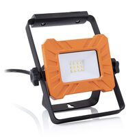Smartwares LED-Arbeitsleuchte mit Bügel 15x19,5x4,5 cm Orange