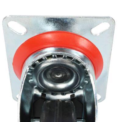 vidaXL 12 Stk. Lenkrollen 100 mm ,
