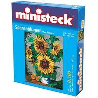 Ministeck - Vase Von Sonnenblumen – 8100st - Mosaiksteine