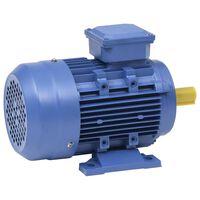 vidaXL 3-Phasen-Elektromotor Aluminium 1,5 kW 2 PS 2-Polig 2840 U/min