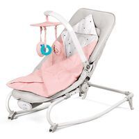 Kinderkraft 3-in-1 Babywippe FELIO Rosa