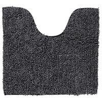 Sealskin WC-Vorleger Misto Baumwolle 55x60 cm Schwarz und Weiß