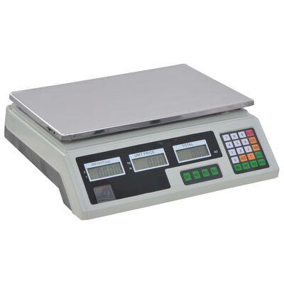 vidaXL Digitalwaage 30 kg mit Akku