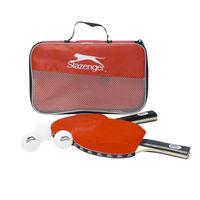 Slazenger Tennis-Set - 6 Stück - zwei Schläger - 3 Bälle - bag