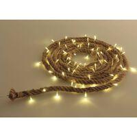 Luxform LED-Seil-Lichterkette Manila 3 m Braun