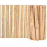 vidaXL Gartenzaun Bambus 1000×50 cm