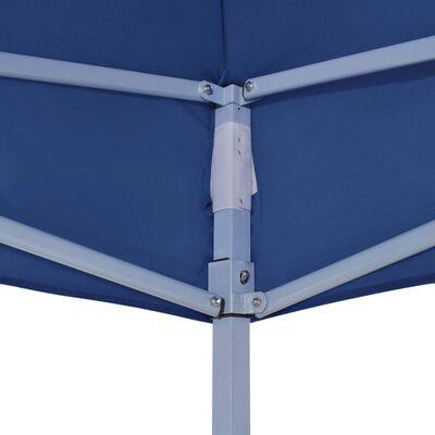 vidaXL Partyzelt-Dach 4,5x3 m Blau 270 g/m²