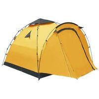 vidaXL Pop-Up-Campingzelt 3 Personen Gelb