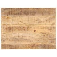 vidaXL Tischplatte Massivholz Mango 25-27 mm 90x60 cm