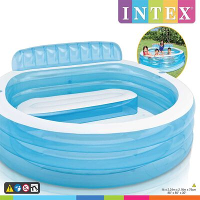 "Intex Swim Center Aufblasbarer Pool ""Family Lounge Pool"" 57190NP ,"