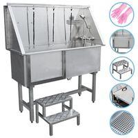 Haustiere Badewanne Bathtube Hundebadewanne Dusche 400mm Edelstahl