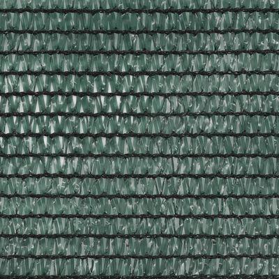 vidaXL Tennisblende HDPE 1,6x25 m Grün
