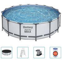 Bestway Steel Pro MAX Swimmingpool-Set 488x122 cm