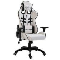 vidaXL Gaming-Stuhl Schwarz Kunstleder