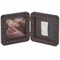 Baby Art My Baby Touch Bilderrahmen mit Abdruck-Set Grau 3601092900