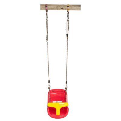 Swing King Schaukelsitz Baby Comfort rot/gelb 2521050,