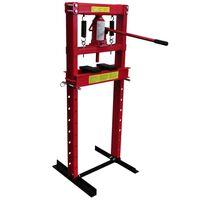 vidaXL Hydraulische Werkstattpresse mit 12 t Pressdruck