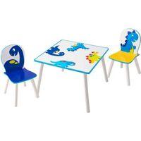 Worlds Apart 3-tlg. Tisch und Stühle Set Dinosaurier