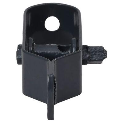 vidaXL Zaun-Drahtspanner 50 Stk. 90 mm Stahl Anthrazit, Anthrazit