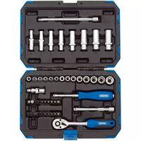 "Draper Tools 47-tlg. Metrischer Steckschlüsselsatz 1/4"" 16355"
