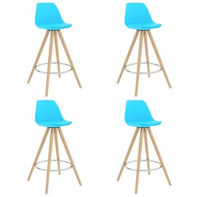 vidaXL 5-tlg. Bar-Set Blau