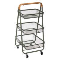 Badezimmerwagen - Küchenwagen - Aufbewahrungskörbe - Wagen Auf Rädern