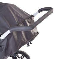 CHILDHOME Kinderwagen-Griffschutz Schaumstoff Schwarz