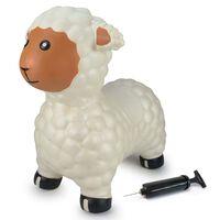 Jamara Hüpftier mit Pumpe Schaf Weiß