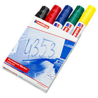 edding Permanent-Marker 5 Stk. Mehrfarbig 800