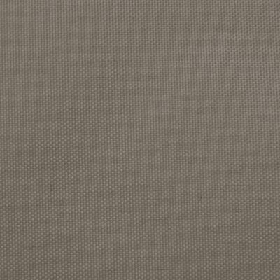 vidaXL Sonnensegel Oxford-Gewebe Rechteckig 3x6 m Taupe