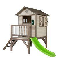 Sunny Kinderspielhaus Lodge XL mit einer Rutsche C050.002.00
