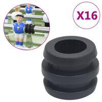 vidaXL Tischfußball-Stangenstopper 16 Stk. für 15,9/16 mm Stangen