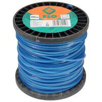 FLO Mähfaden 2,4 mm 90 m Blau