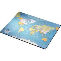 Esselte Schreibtischunterlage Europost Weltkarte 40x53 cm